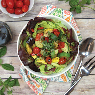 Roasted Ratatouille Summer Salad Recipe