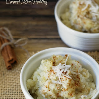 Warm Cardamom and Coconut Rice Pudding