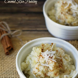 Warm Cardamom and Coconut Rice Pudding.