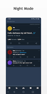 Ugly Bird - Fake Tweet Prank Maker for Twitter Screenshot