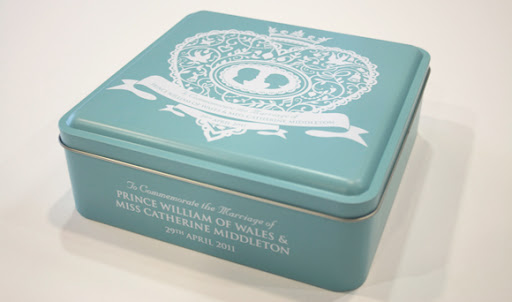 kate forrester marks spencer royal wedding tin