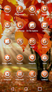 Enyo Orange - Icon Pack screenshot 2