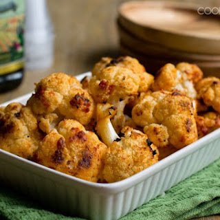 Italian Oven Roasted Cauliflower.