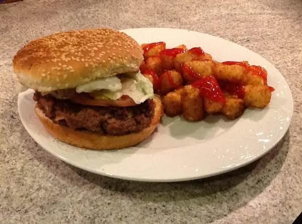 The Stuffed Bacon Burger