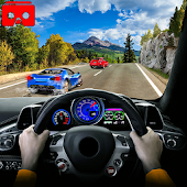 VR  Traffic Speed Racer Car : VR Car Racing