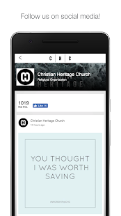 Christian Heritage Church- screenshot thumbnail