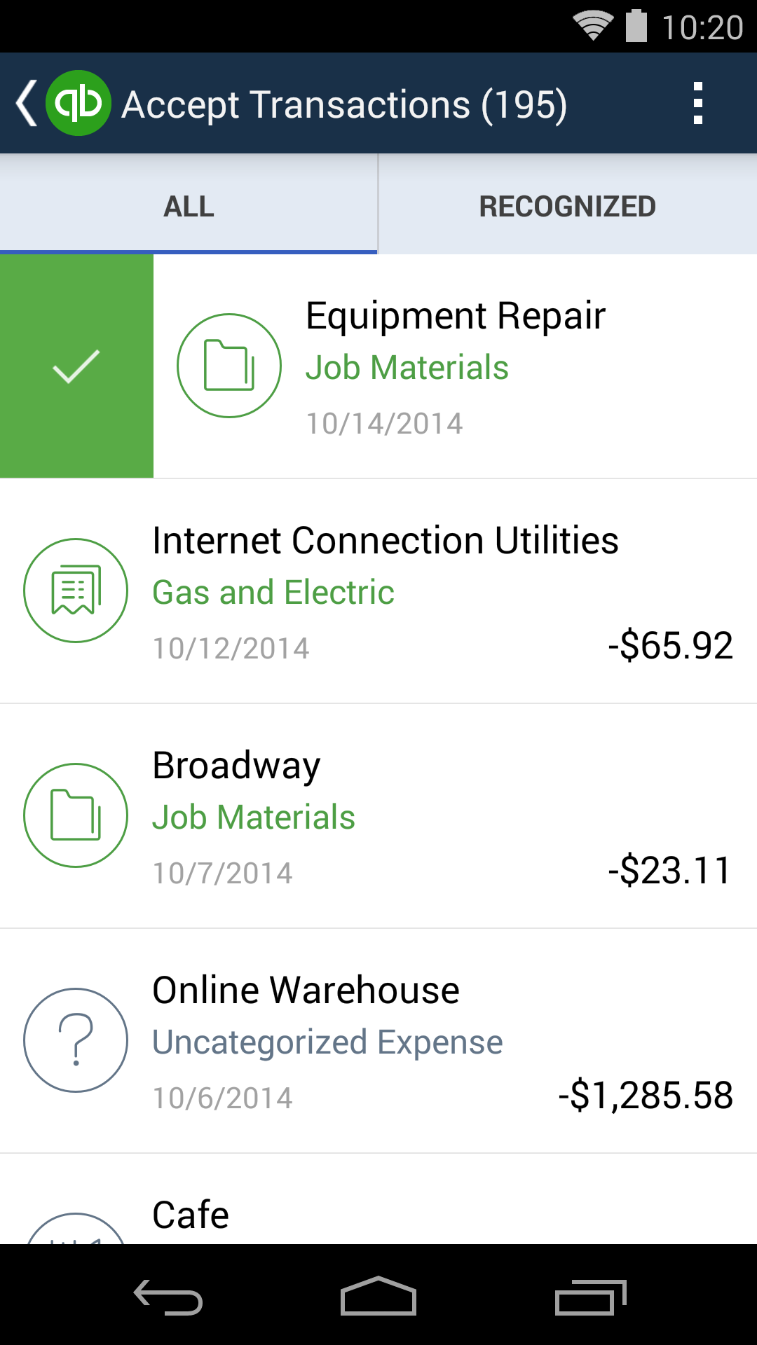QuickBooks Accounting+Invoice screenshot #2