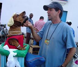 Photo: famous cuban dog, el pillo chocolate. Tracey Eaton photo.