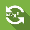 DAVx⁵ – CalDAV & CardDAV Sync client icon