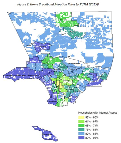 Researchers Map Digital Exclusion In Los Angeles County Communications Workers Of America