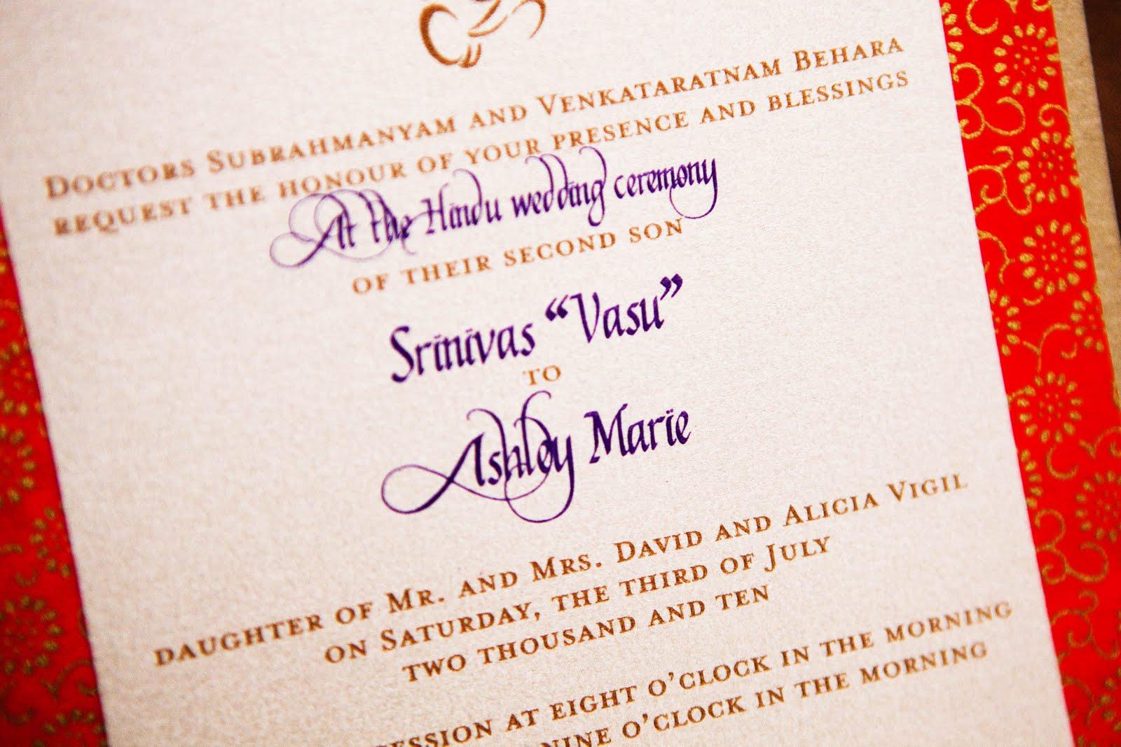 Linh S Blog Hindu Wedding Invitation Cards