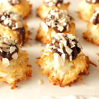 Chocolaty Almond Joy Coconut Macaroons
