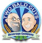 Logo for Two Bald Guys Beverage Company