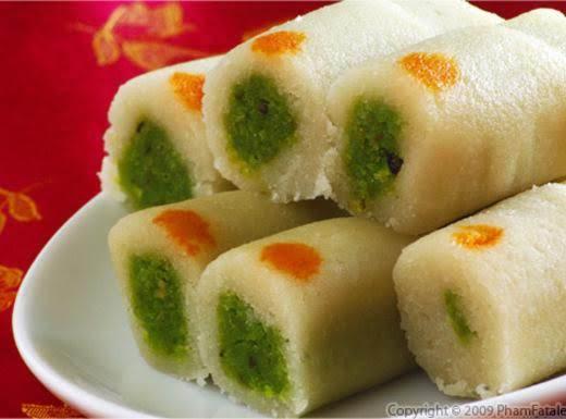 Cashew Pistachio Roll Recipe