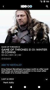 HBO GO Philippines- screenshot thumbnail