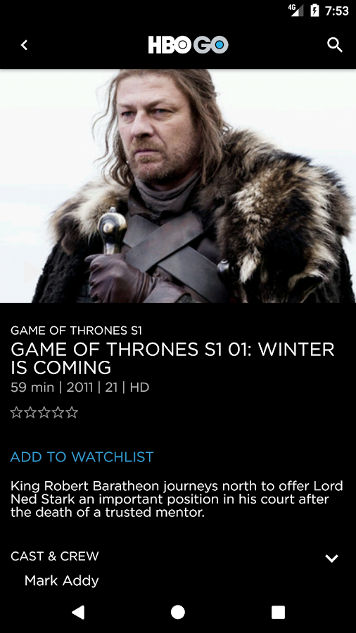 HBO GO Philippines- screenshot