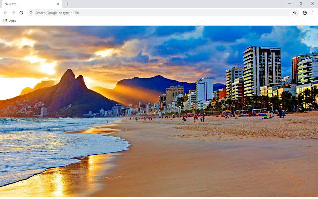 Rio De Janeiro New Tab