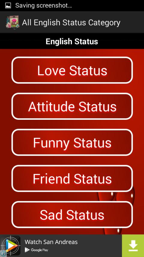 Love Status 2018