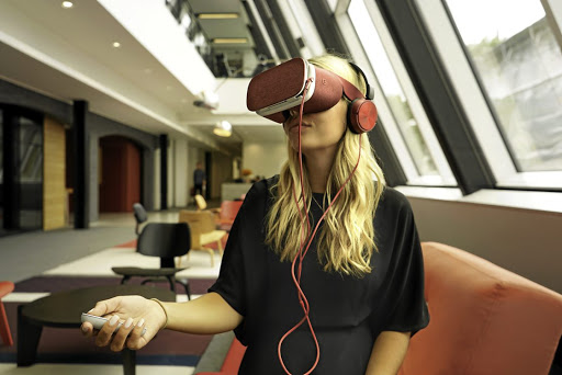 Ford has introduced a virtual reality app overseas to show the dangers of distracted driving.   Picture: NEWSPRESS UK