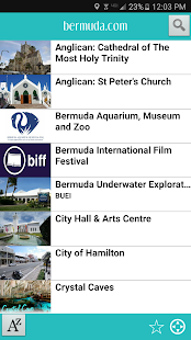 Bermuda.com- screenshot thumbnail