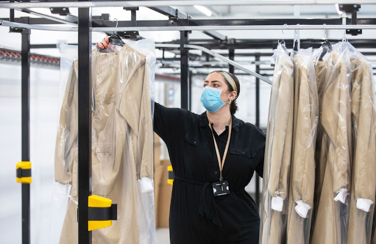 Burberry's factory in Castleford, England. Picture: BLOOMBERG/CHRIS RATCLIFFE
