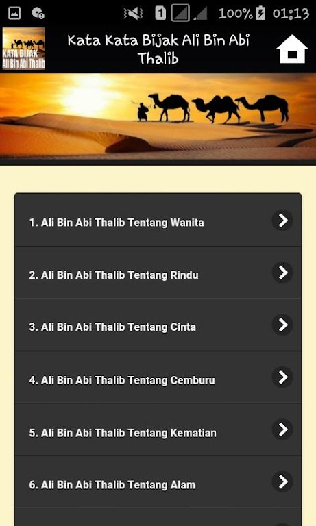 Download Kata Kata Bijak Ali Bin Abi Thalib Apk Latest