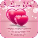 Love Images With Romantic Messages, Love Quotes icon