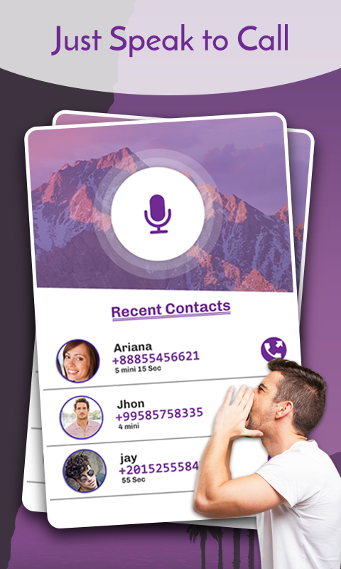 Voice Dialer- Speak To Dial- screenshot
