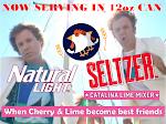 Anheuser-Busch Natural Light Catalina Lime Mixer (Cherry & Lime Seltzer)