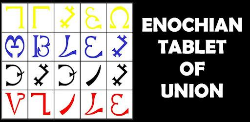 Enochian Tablet of Union or Spirit (Angel Magick) - التطبيقات على Google  Play