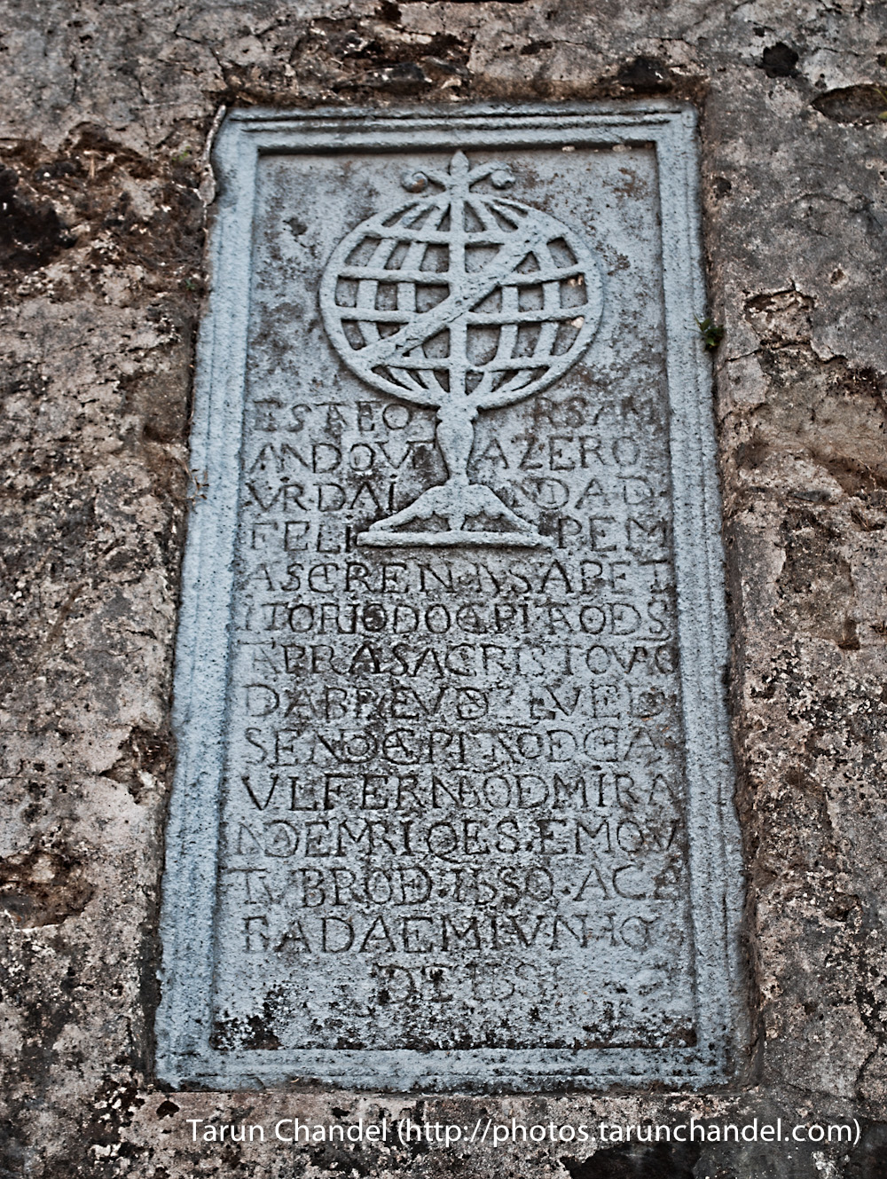 Korlai Fort Portuguese Stone, Tarun Chandel Photoblog