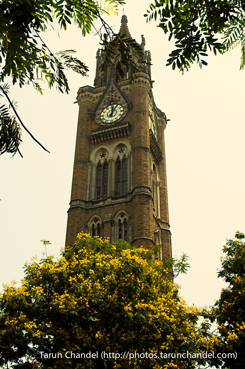 Mumbai University Tower Clock, Tarun Chandel Photoblog