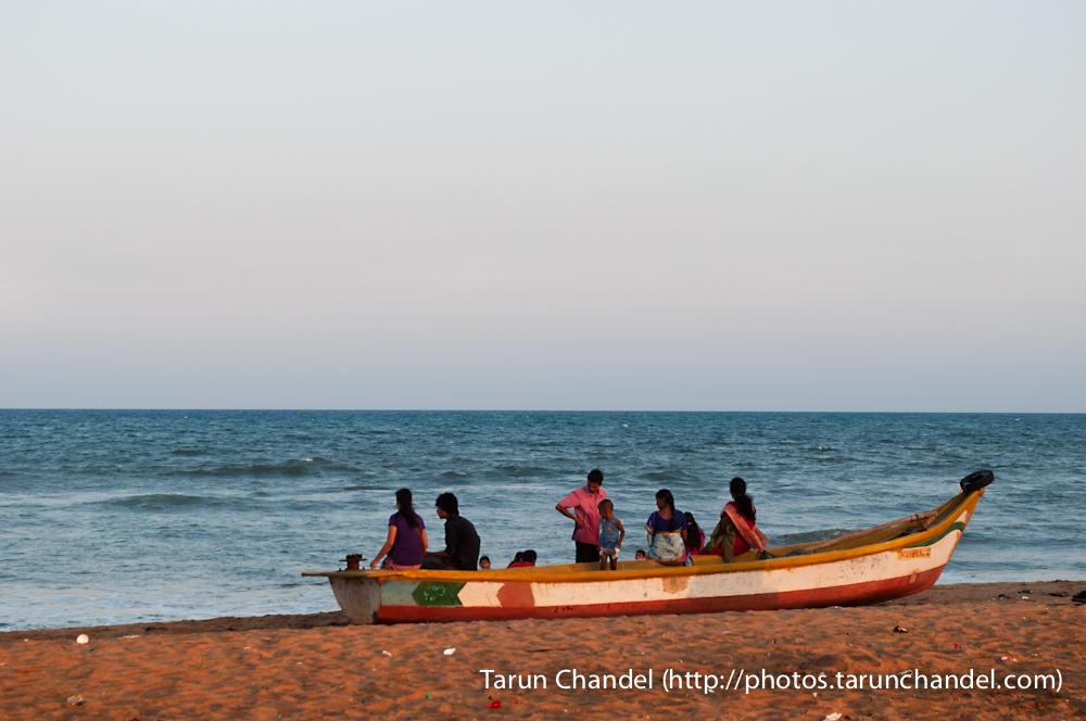 Marina Beach Chennai Boat, Tarun Chandel Photoblog