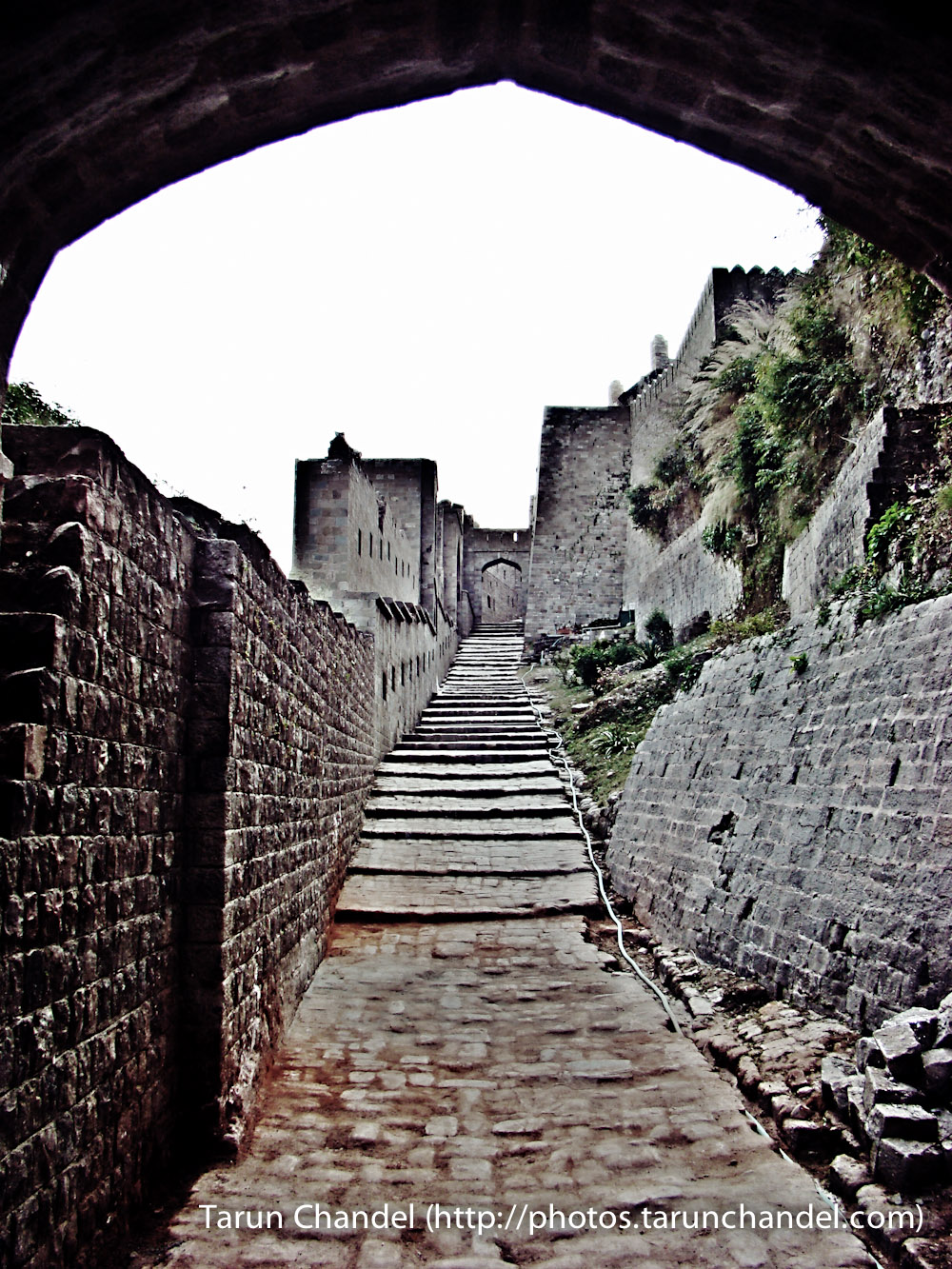 Kangra Fort Alley Himachal, Tarun Chandel Photoblog