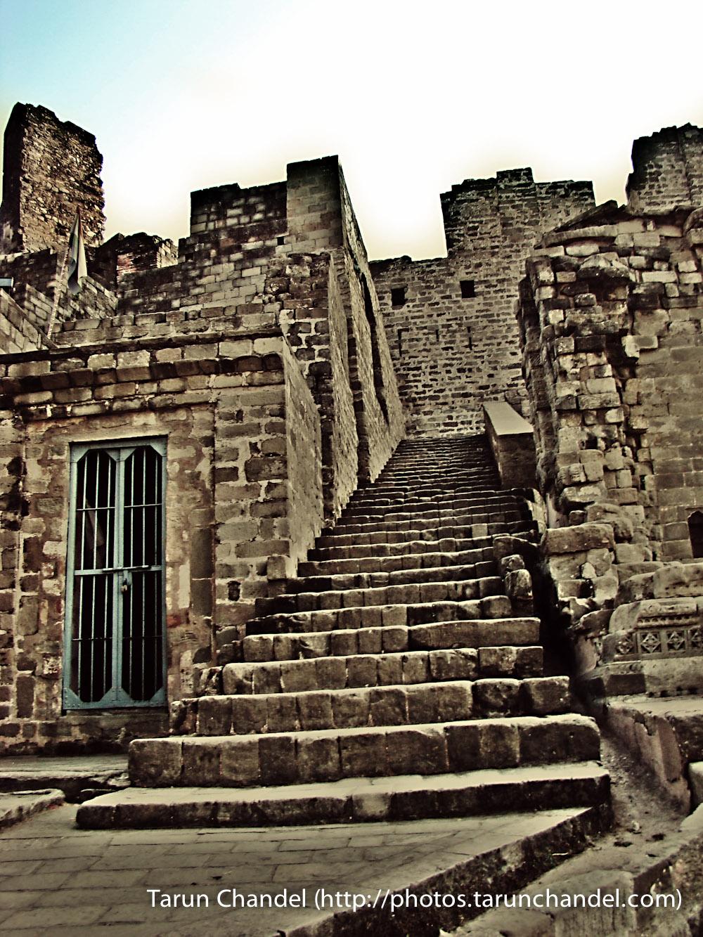 Kangra Fort Stairs Himachal, Tarun Chandel Photoblog