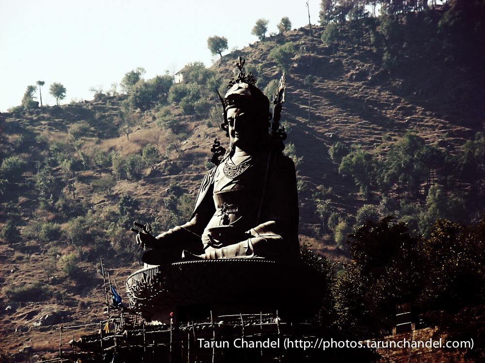 Padmasambhava Rewalsar Lake Himachal, Tarun Chandel Photoblog