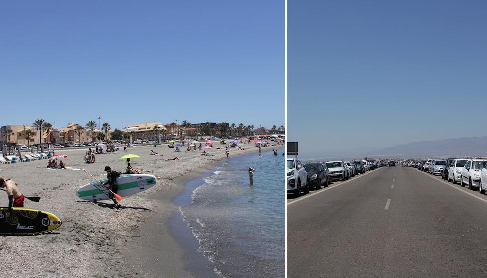 Disfrutando de las playas desde Almería al Cabo de Gata.
