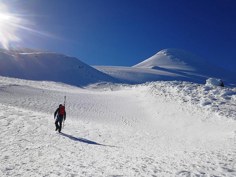 [Foto:Fuß von Osorno]