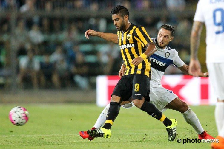 Ronald Vargas de retour en Belgique?