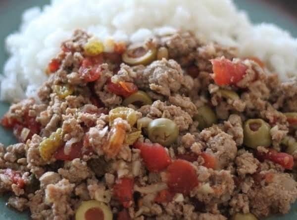 Picadillo, Cuban Ground Beef Recipe