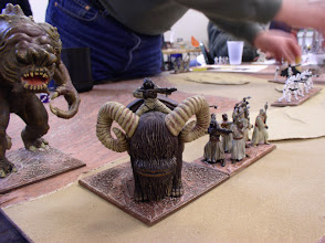 Photo: Scenerio 7: Tatooine Unification: Watch out little Bantha, that's a Rancor coming for you!   It's tough work being the subjugated Tusken Raiders Imperial ally.