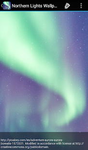 Northern Lights Wallpaper - náhled