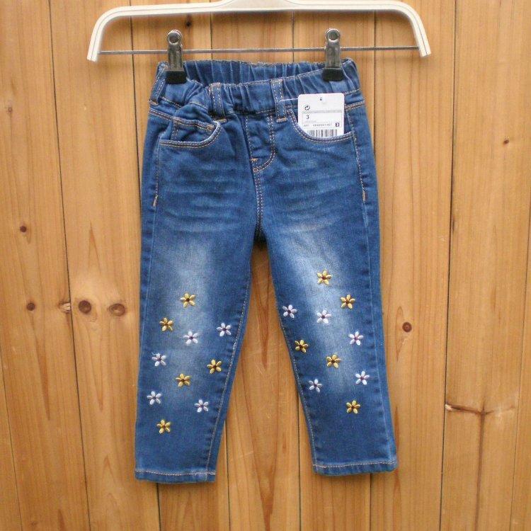 Spodnie dżinsowe dla dziewczynek