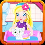 Baby Sofia White Kitty