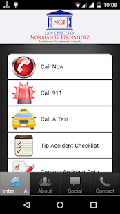 California Accident App- screenshot thumbnail