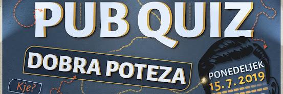 Pub Quiz - 15.7.2019