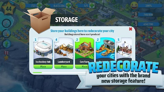 City Island 5 – Tycoon Building Simulation Offline Mod 1.11.3 Apk [Unlimited Money] 5
