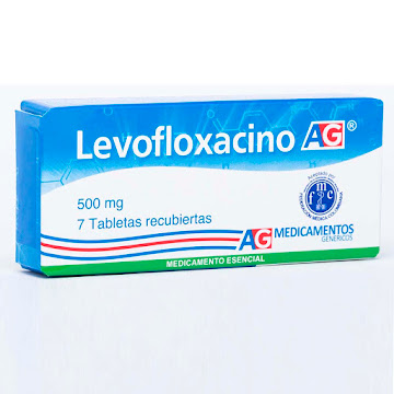 Solo Online Levofloxacino 500 Mg   Tab/Comp x 7 Und