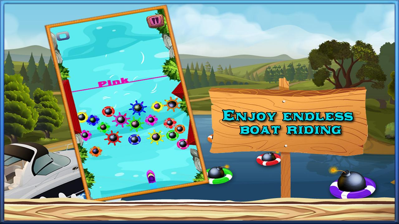 River Rush Guide your Boat Out- screenshot