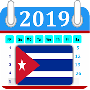 Cuba 2019 Calendar-Holiday